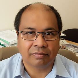 Ing. Shahed Ashraf Vedoucí ekonom Psychiatrické nemocnice Bohnice