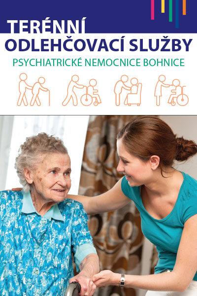 Terénní odlehčovací služby - pomoc nemocným seniorům